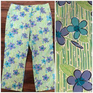 Vintage Lilly Pulitzer Capri Pants Size 8